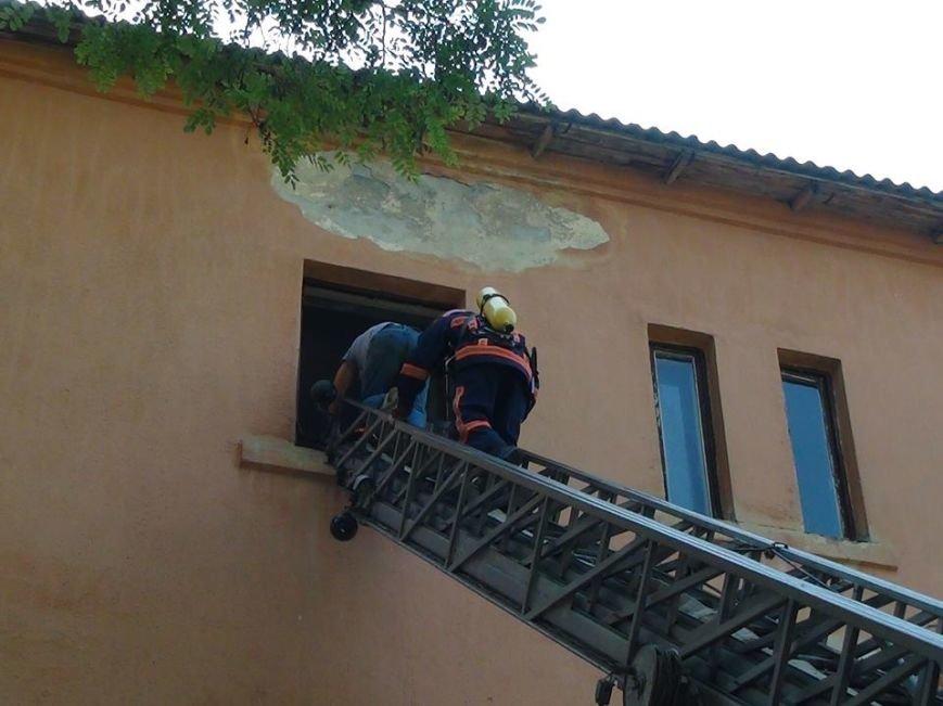 В одній із лікарень міста рятувальники гасили умовну пожежу, фото-6