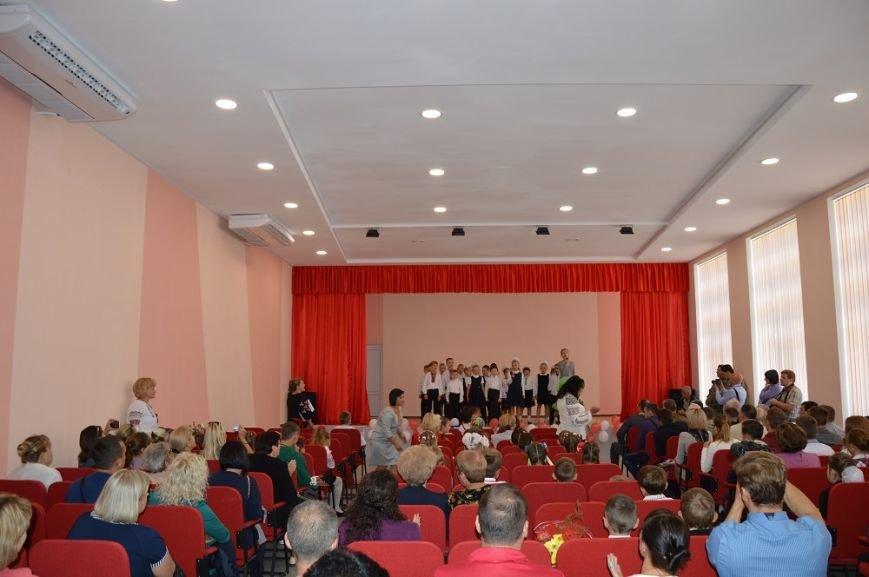 дети авдееской школы на новой сцене