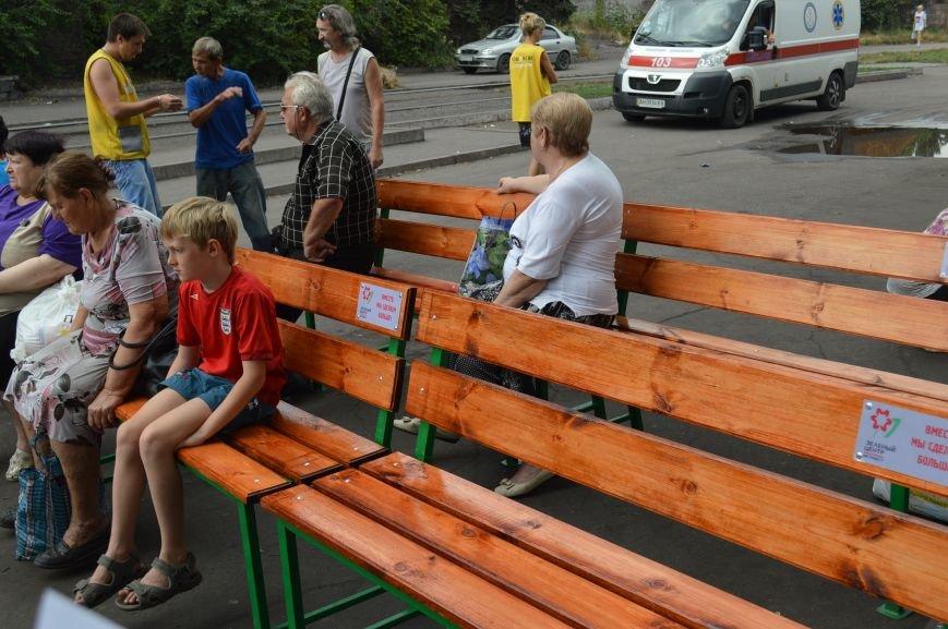 «Зелёный центр Метинвест» создал комфортные условия пенсионерам для получения Гуманитарной помощи Ахметова, фото-2