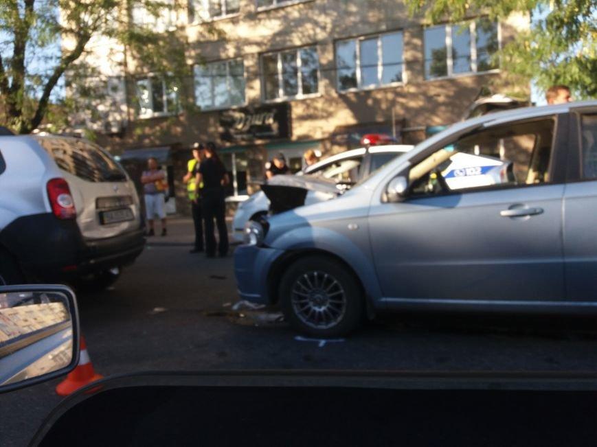 В Кропивницком произошло ДТП участниками, которого стали три автомобиля (ФОТО), фото-1