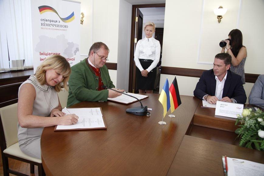 Улучшать социальную инфраструктуру Кривого Рога будут вместе с немецкими партнерами (ФОТО), фото-1