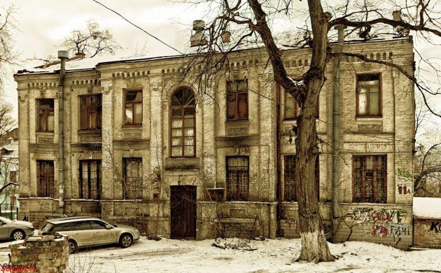 Здание до разрушения