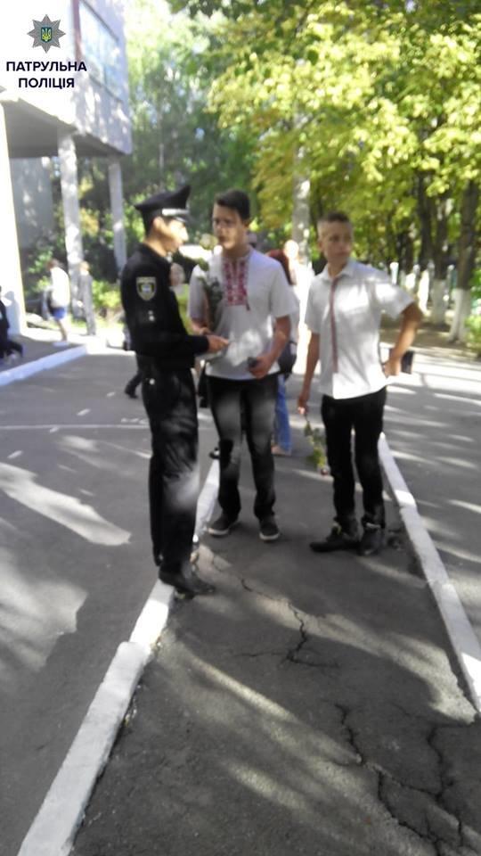 Кременчугские патрульные будут усиленно стеречь школьников у дорог в первые дни учебного года, фото-2
