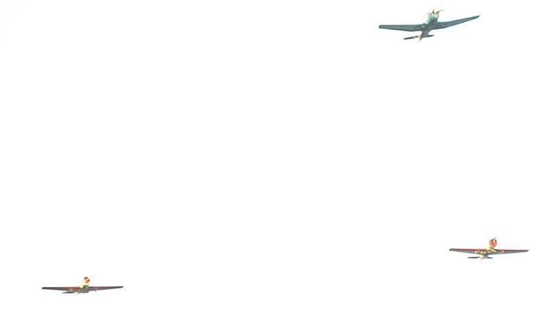 Минишоу авиации над Одессой и квартиры в подарок олимпийским чемпионам-одесситам (ФОТО), фото-1
