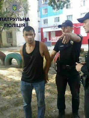 В Кропивницком патрульные задержали мужчину, обвиняемого в серии грабежей. ФОТО, фото-1