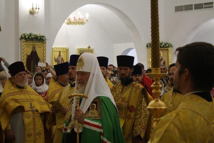 Патриарх Кирилл освятил Кафедральный Собор в Южно-Сахалинске, фото-4