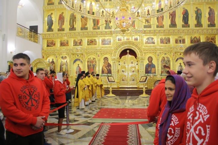 Патриарх Кирилл освятил Кафедральный Собор в Южно-Сахалинске, фото-6