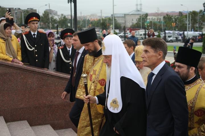 Патриарх Кирилл освятил Кафедральный Собор в Южно-Сахалинске, фото-3