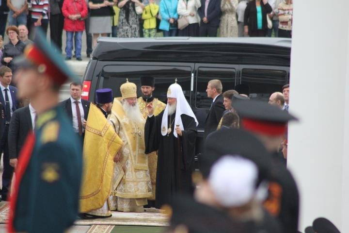 Патриарх Кирилл освятил Кафедральный Собор в Южно-Сахалинске, фото-2