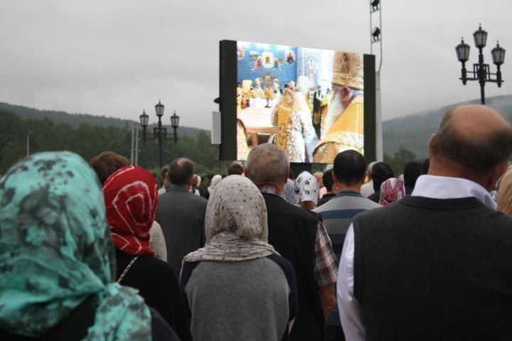 Патриарх Кирилл освятил Кафедральный Собор в Южно-Сахалинске, фото-5