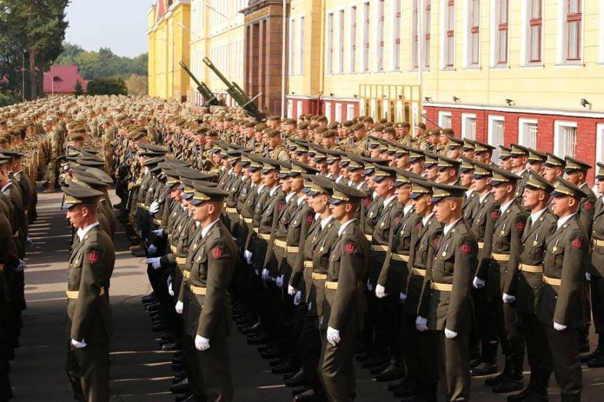 Курсанти-першокурсники Національної Академії сухопутних військ склали Військову присягу (ФОТО), фото-4