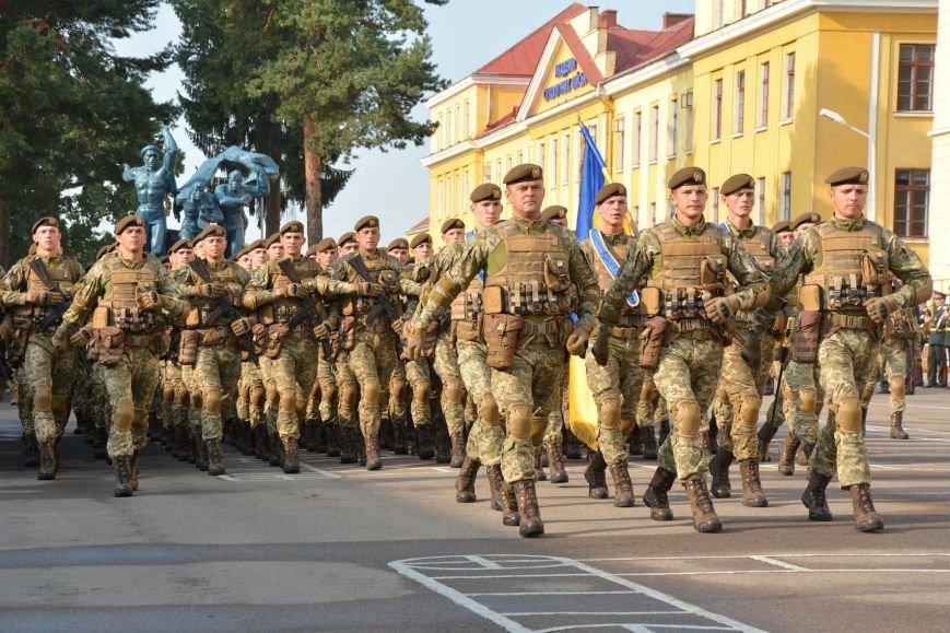 Курсанти-першокурсники Національної Академії сухопутних військ склали Військову присягу (ФОТО), фото-8