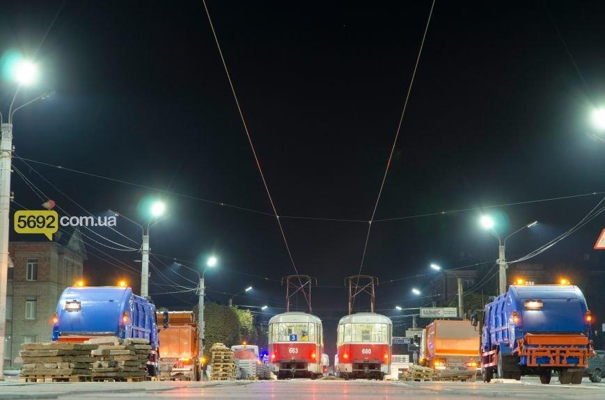 В Каменском состоялась репетиция парада техники ко Дню города, фото-2
