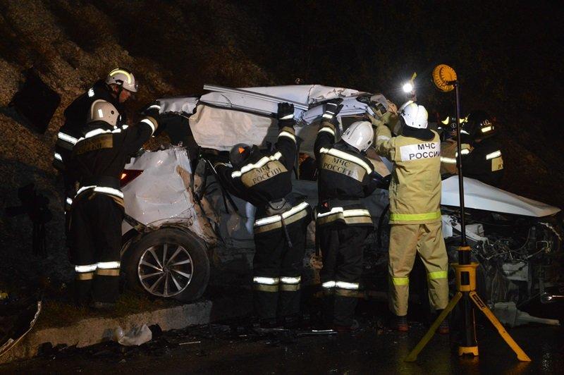 В ДТП на трассе Симферополь-Севастополь погибли три человека (ФОТО), фото-1