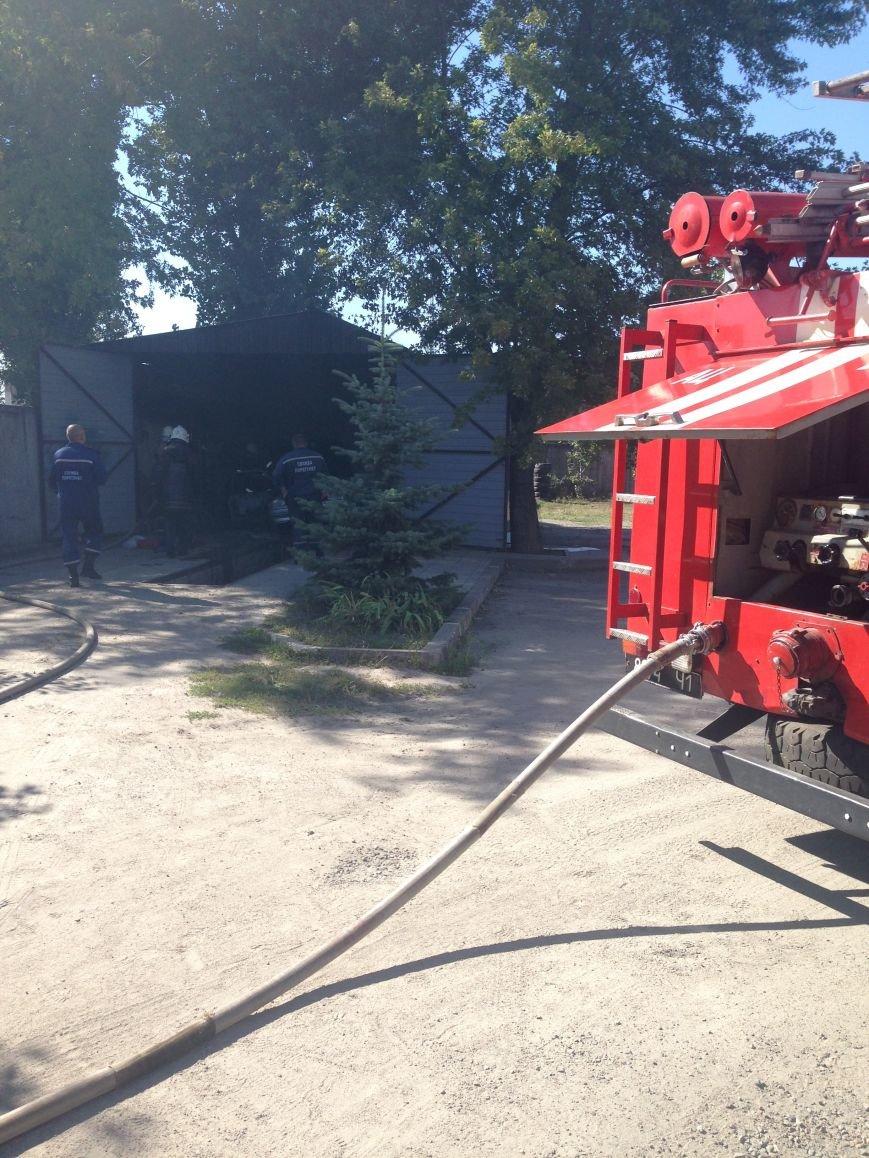 В Кременчуге на выходных горели теплица и автомобиль (ФОТО), фото-1