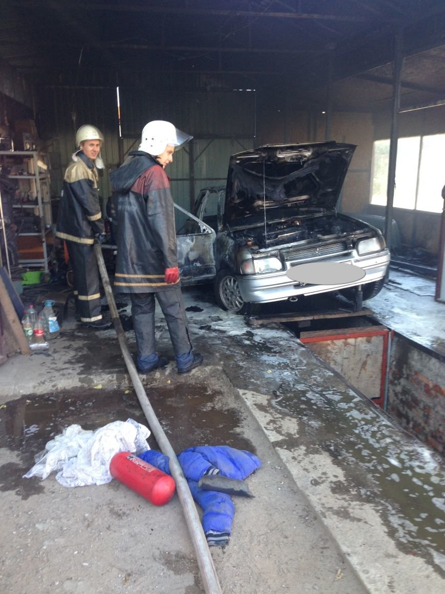 В Кременчуге на выходных горели теплица и автомобиль (ФОТО), фото-2