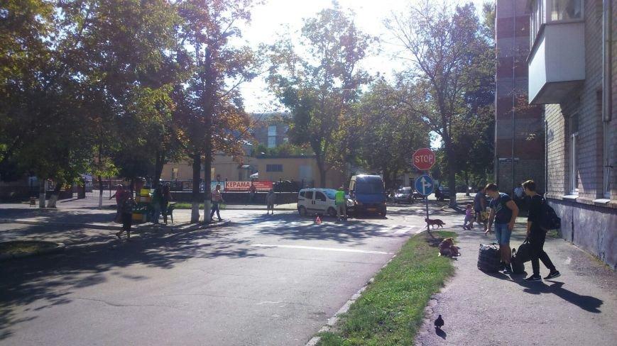 На перекрёстке улиц Сердюка и Маслова снова авария (ФОТО), фото-2