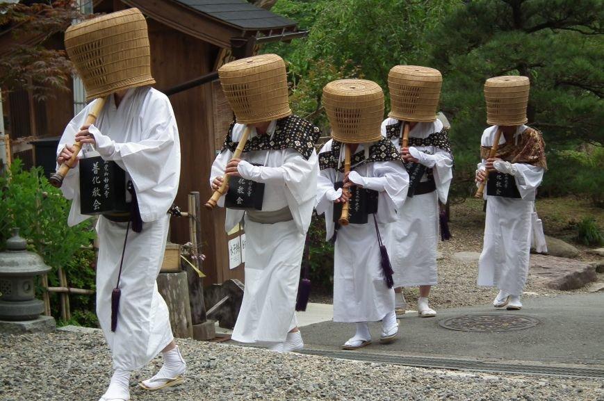Daikokuji-Sasayama_Komusō_Shakuhachi_大国寺(篠山市)丹波茶祭り_虚無僧_DSCF1443