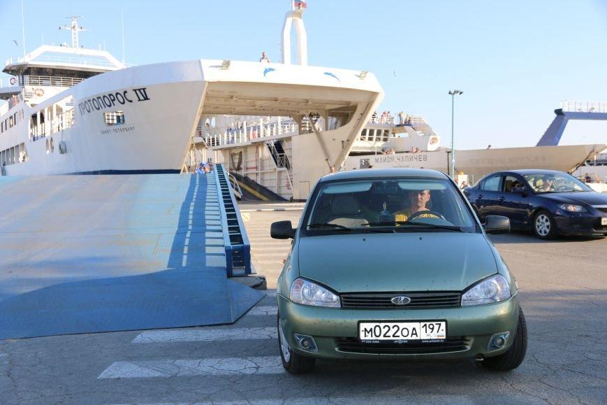 Керченская переправа встретила миллионный легковой автомобиль (ФОТО), фото-2