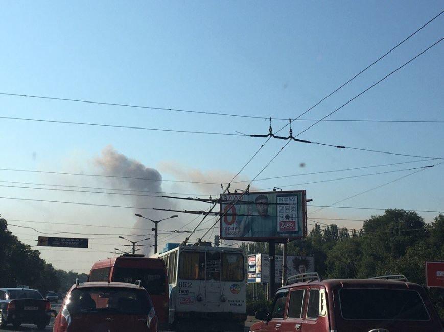 Багряные облака над Кривым Рогом возникли из-за... штиля (ФОТО), фото-3