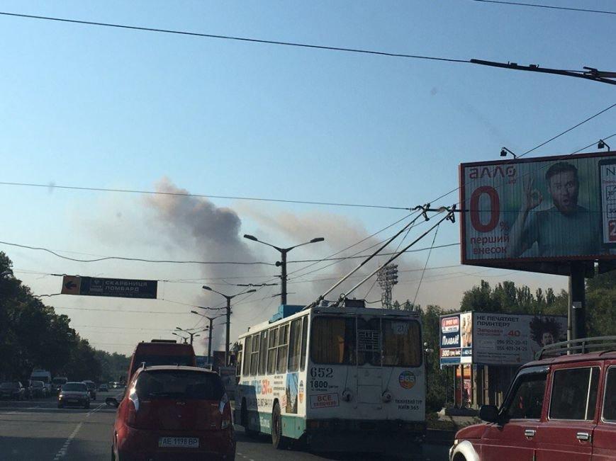 Багряные облака над Кривым Рогом возникли из-за... штиля (ФОТО), фото-2