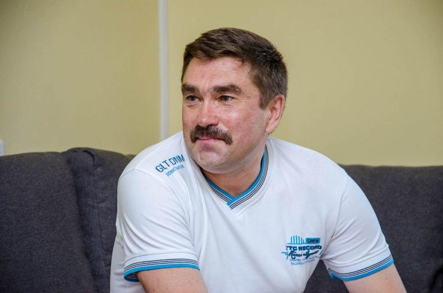 7 Юрій Сотниченко у реабілітаційному центрі для учасників АТО вперше.