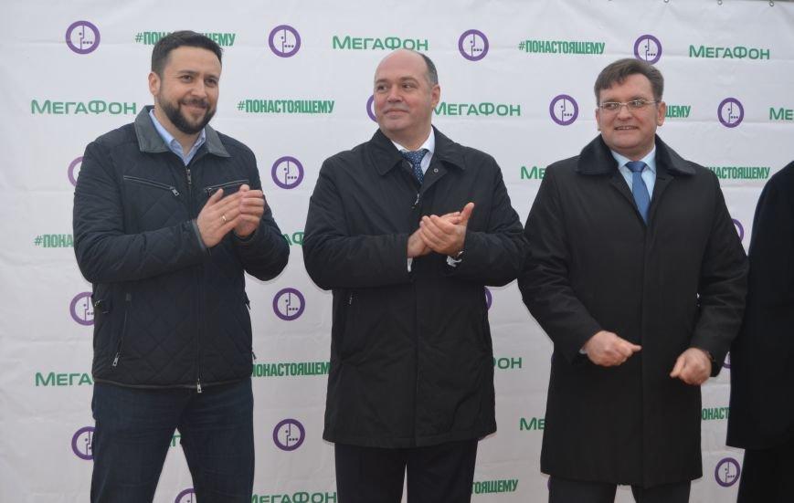 Открытие первой среди операторов связи 3G-станции в слободе Титовка Миллеровского района