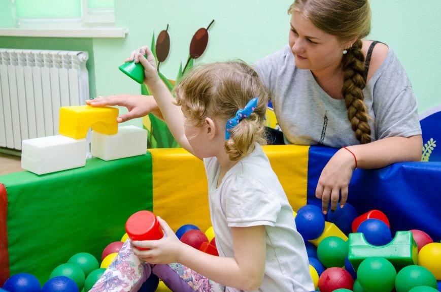 9 У Дніпрі відкрили сучасний реабілітаційний центр для дошкільнят-аутистів.