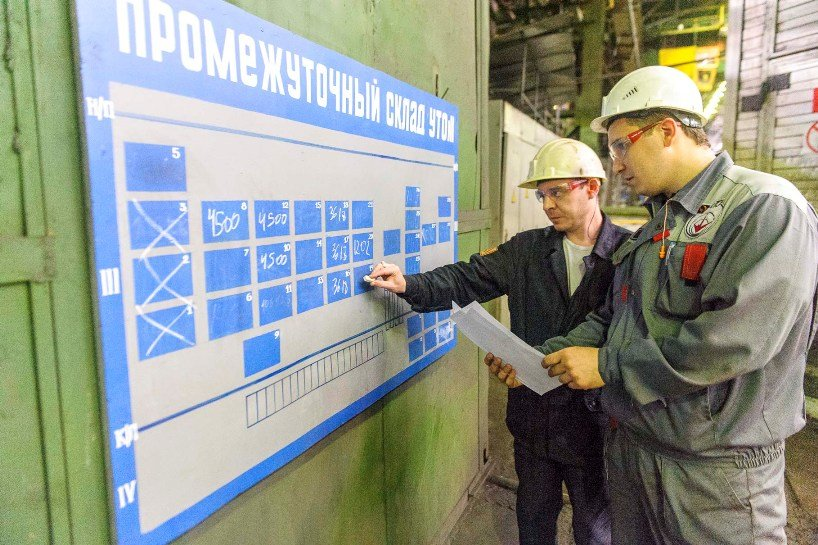 Проект в термоотделе №1 ТПЦ-1