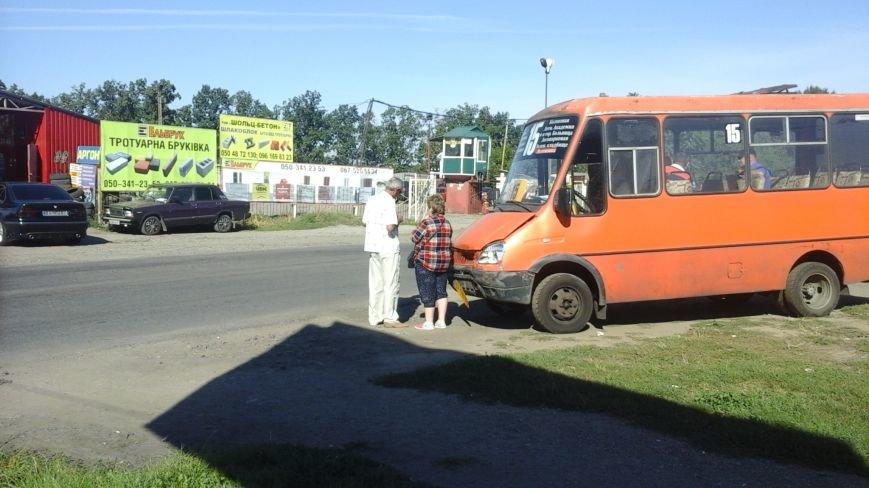 ДТП в Кропивницком: маршрутка врезалась в автомобиль (ФОТО), фото-7