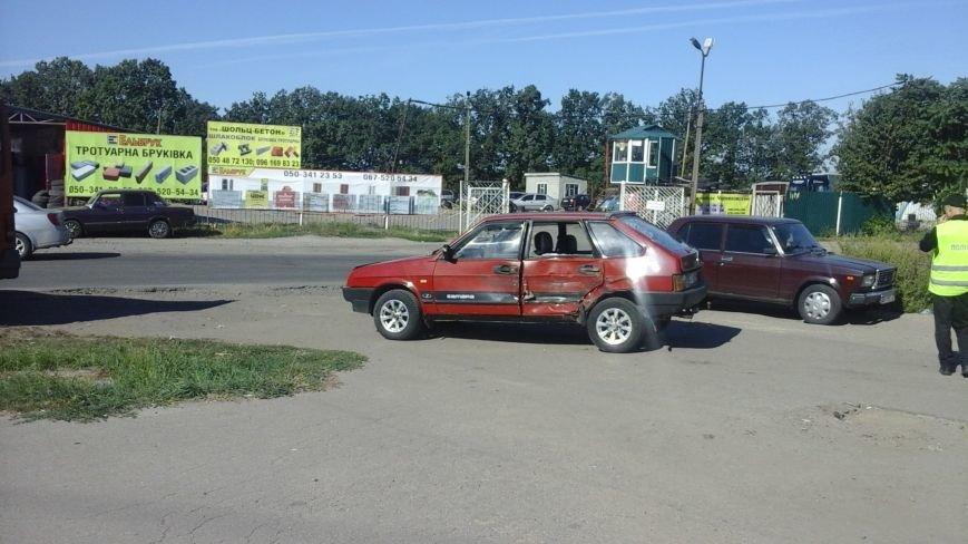 ДТП в Кропивницком: маршрутка врезалась в автомобиль (ФОТО), фото-5