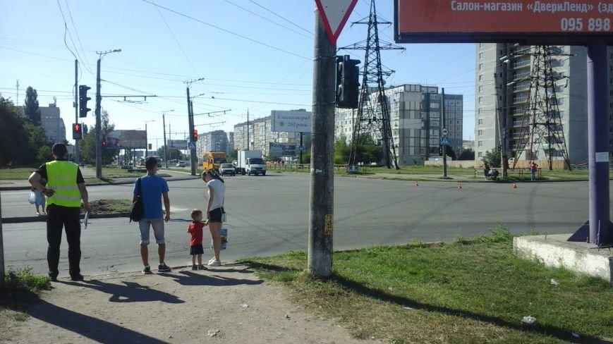 ДТП в Кропивницком: маршрутка врезалась в автомобиль (ФОТО), фото-6