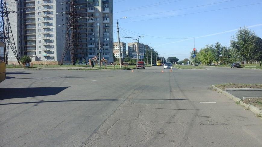 ДТП в Кропивницком: маршрутка врезалась в автомобиль (ФОТО), фото-8