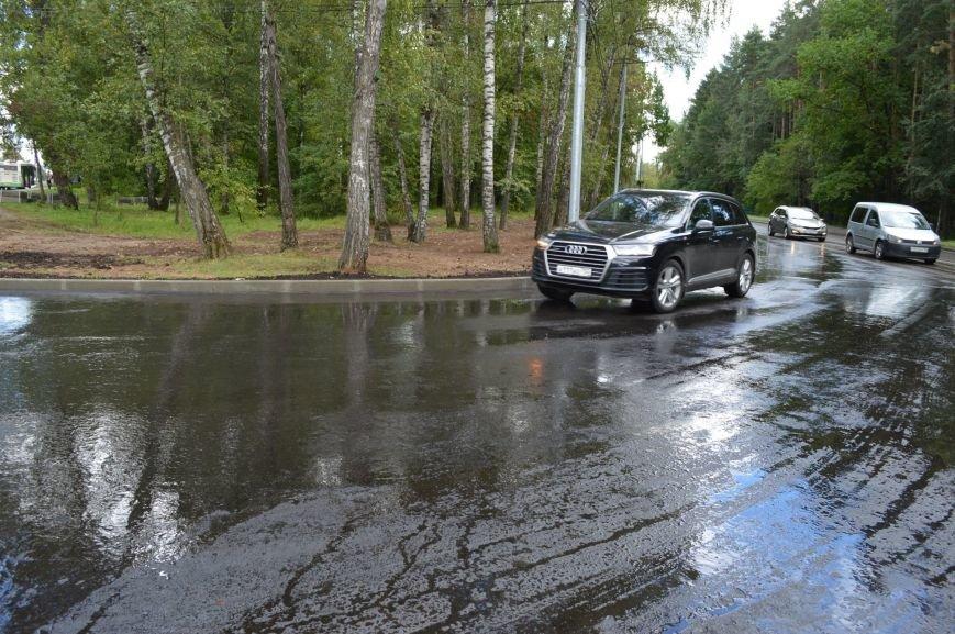 На въезде в Троицк со стороны Калужского шоссе расширили дорогу, фото-1