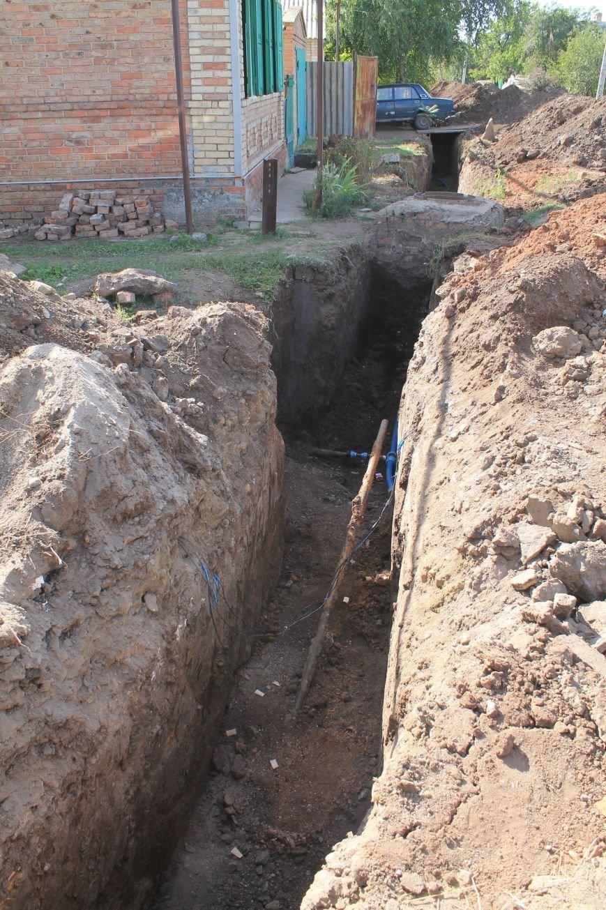 В частных домах Восточного микрорайона Бахмута решена проблема отсутствия воды, фото-1