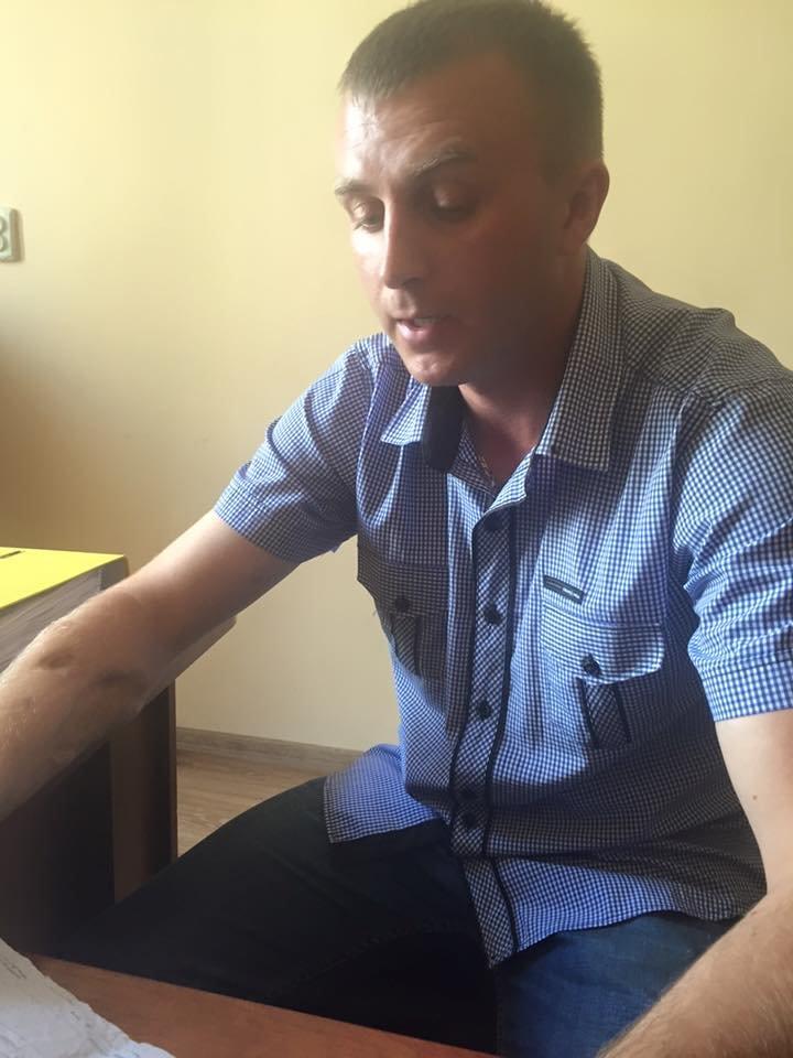 Учасник АТО звинувачує начальника патрульної поліції Івано-Франківська в побитті. (ФОТО), фото-3