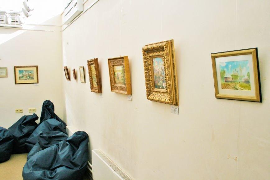 В Доме Учёных открылась выставка миниатюрных картин известных художников Троицка, фото-5