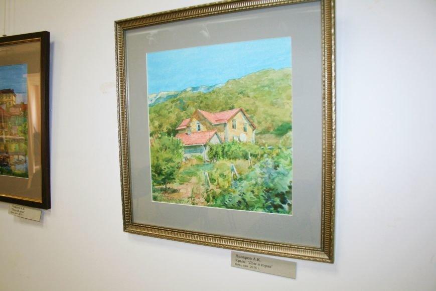 В Доме Учёных открылась выставка миниатюрных картин известных художников Троицка, фото-8