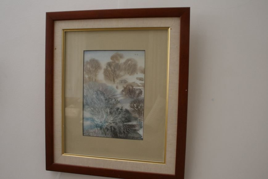В Доме Учёных открылась выставка миниатюрных картин известных художников Троицка, фото-4