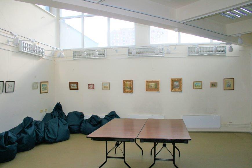 В Доме Учёных открылась выставка миниатюрных картин известных художников Троицка, фото-6