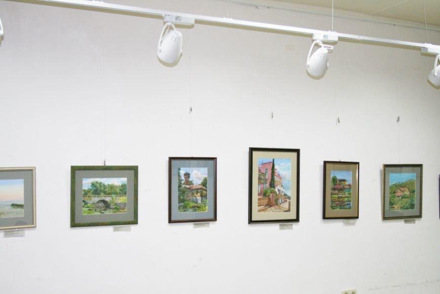 В Доме Учёных открылась выставка миниатюрных картин известных художников Троицка, фото-7