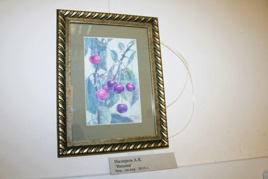 В Доме Учёных открылась выставка миниатюрных картин известных художников Троицка, фото-9