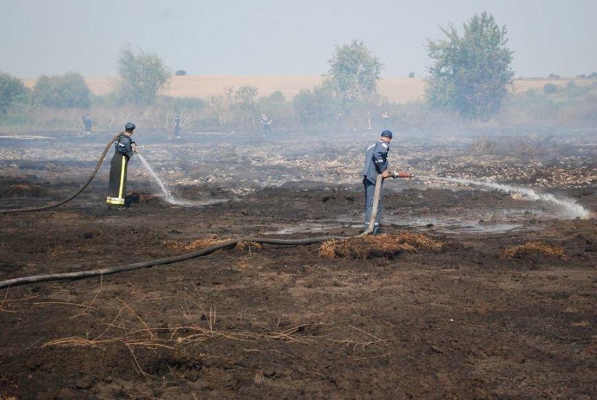 Рятувальники продовжують ліквідовувати горіння торфу поблизу Львова (ФОТО), фото-3