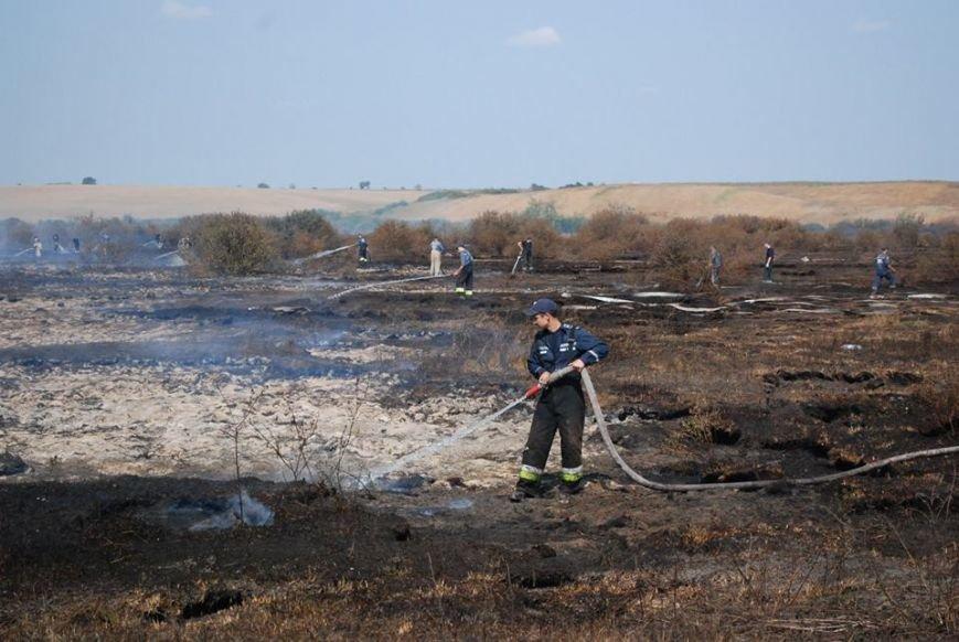 Рятувальники продовжують ліквідовувати горіння торфу поблизу Львова (ФОТО), фото-2