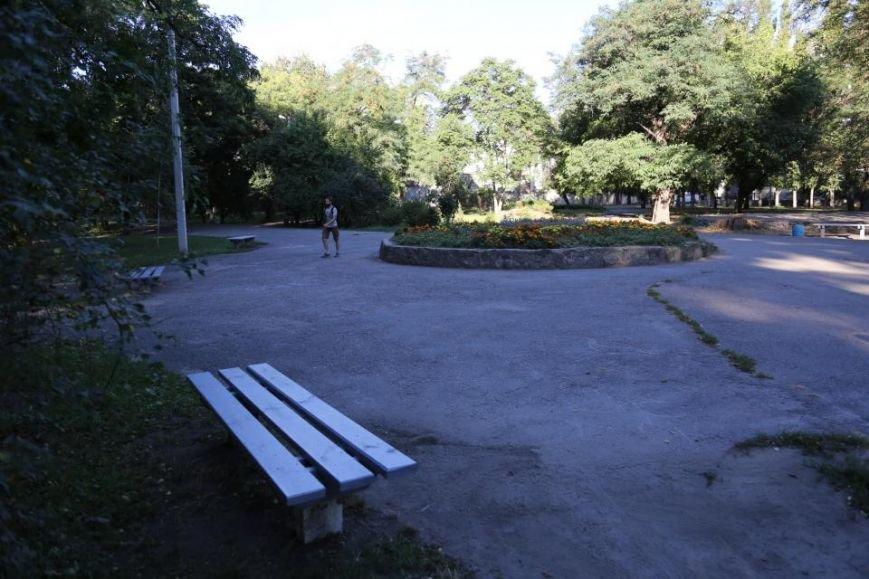 Реконструкция Городского сада должна быть закончена к Дню города (фото и видео), фото-5