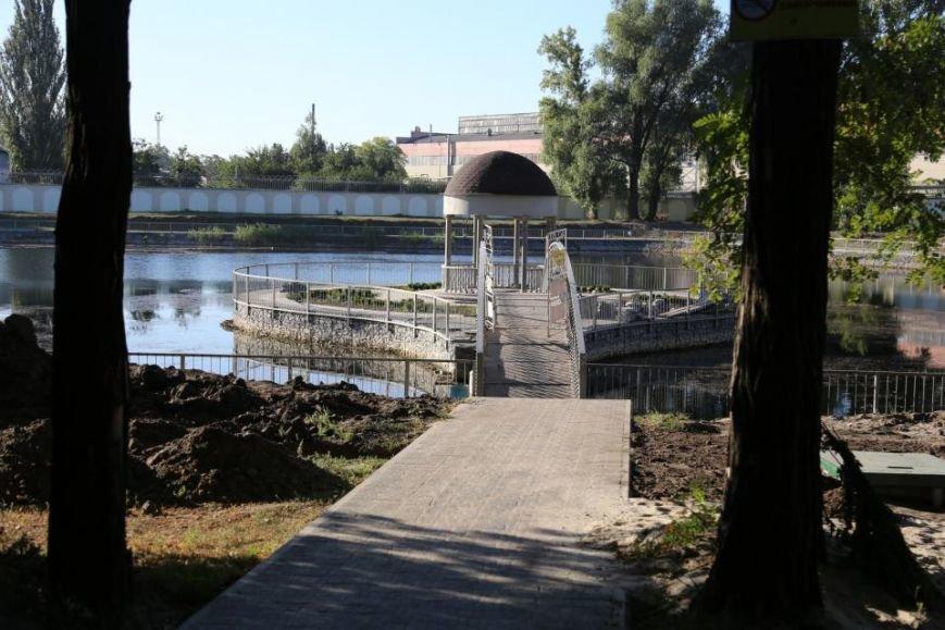 Реконструкция Городского сада должна быть закончена к Дню города (фото и видео), фото-4