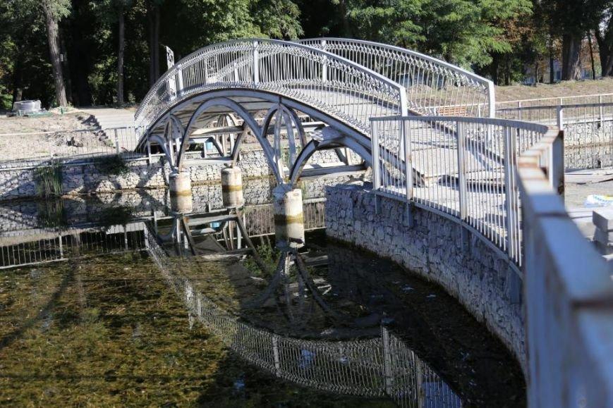 Реконструкция Городского сада должна быть закончена к Дню города (фото и видео), фото-10