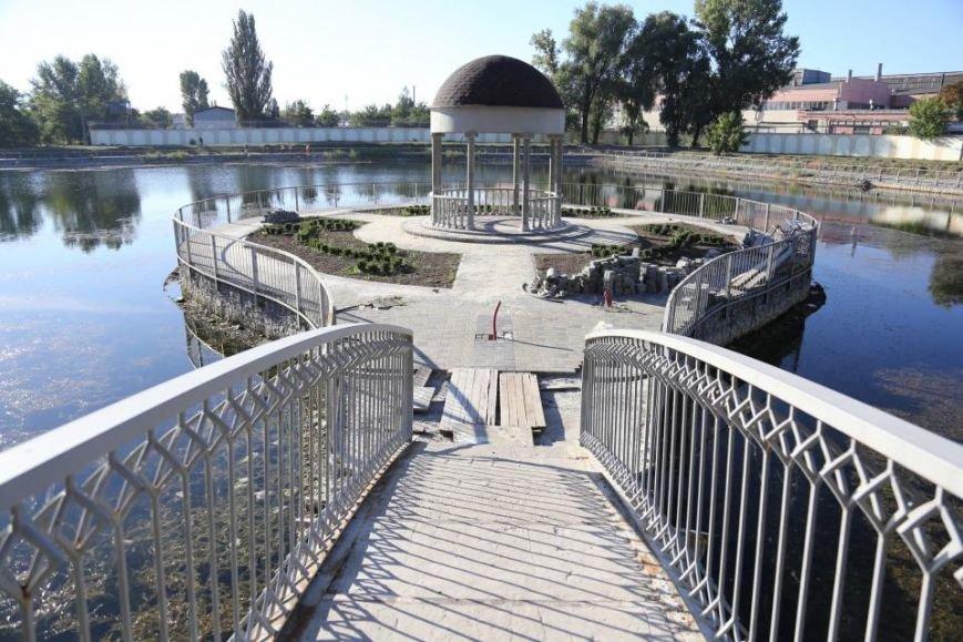 Реконструкция Городского сада должна быть закончена к Дню города (фото и видео), фото-8