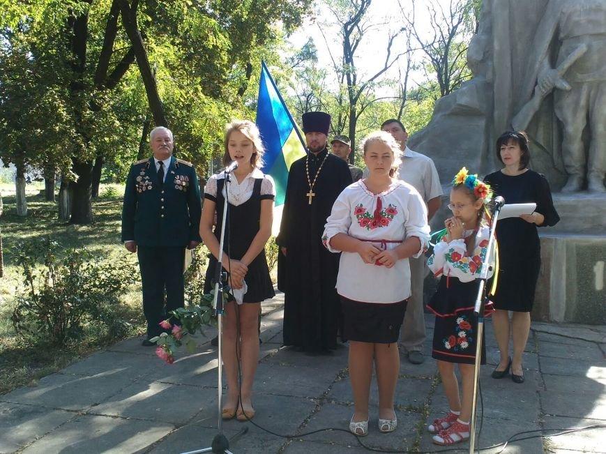 В Авдеевке прошли митинги ко Дню освобождения Донбасса от фашистских захватчиков (ФОТОФАКТ), фото-1
