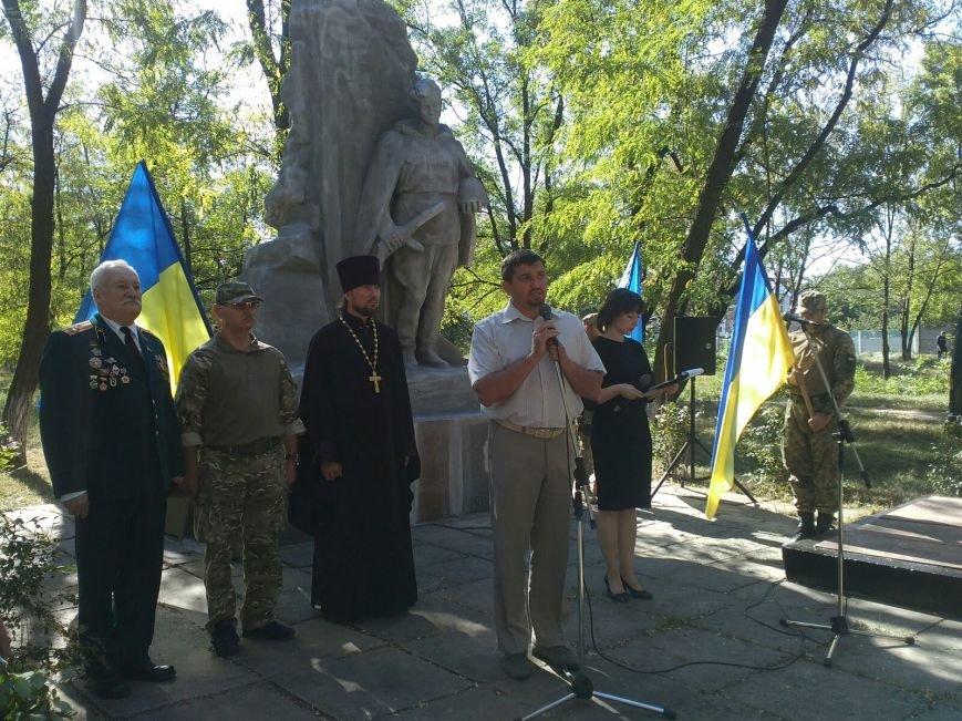 В Авдеевке прошли митинги ко Дню освобождения Донбасса от фашистских захватчиков (ФОТОФАКТ), фото-2